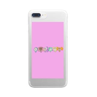 フェアリーズ💎 Clear smartphone cases