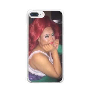 #KEKのアリエルの巨人 Clear smartphone cases