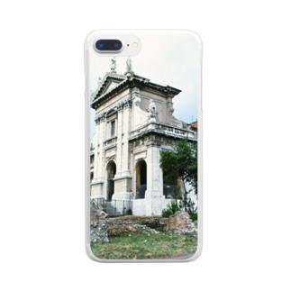 イタリア:サンタ・フランチェスカ・ロマーナ教会 Italy: Basilica di Santa Francesca Romana Clear smartphone cases