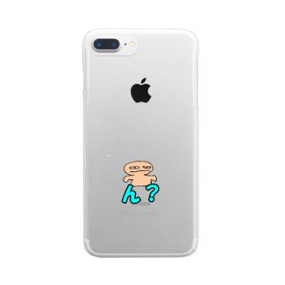 ゆるキャラ Clear smartphone cases