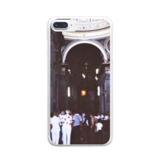 バチカン市国:サン・ピエトロ大聖堂 Vatican: Basilica di San Pietro in Vaticano Clear smartphone cases