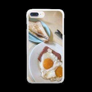 HKG パンダのA餐 Clear smartphone cases