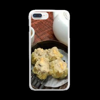 HKG パンダの燒賣 Clear smartphone cases
