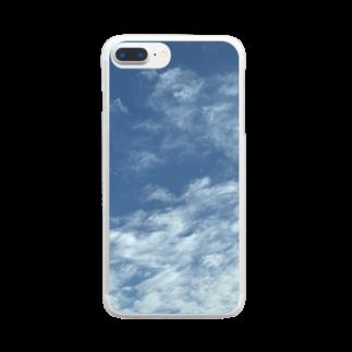 ayakaの抹茶の青空 Clear smartphone cases