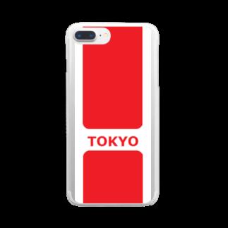 アメリカンベースのTOKYO Clear smartphone cases