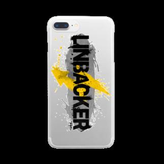 PB.DesignsのLINEBACKER Wallart  Clear smartphone cases