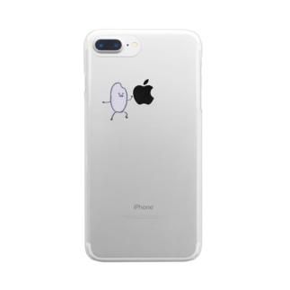 おこめちゃんシリーズ Clear smartphone cases