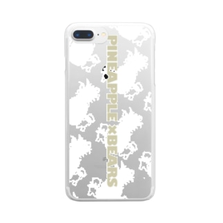 pineappleベアー Clear smartphone cases