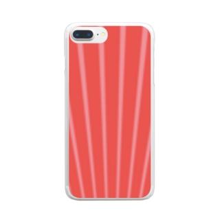 筋肉 Clear smartphone cases