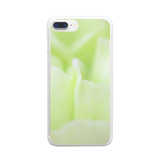 1/FのGreen Carnation グリーンカーネーション Clear smartphone cases