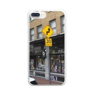 レトロ Clear smartphone cases