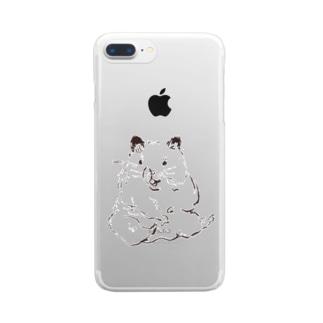 シュハム Clear smartphone cases