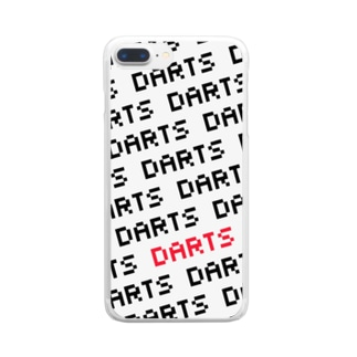 DARTS (ドット) Clear smartphone cases