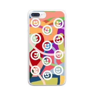ウチら Clear smartphone cases