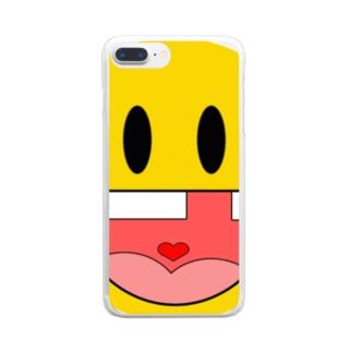 工場長のガハハ Clear smartphone cases