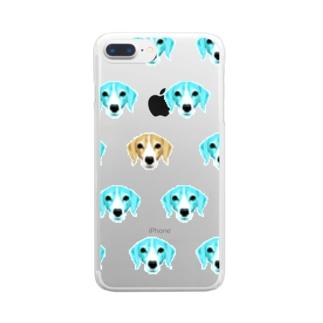 はなこズ Clear smartphone cases