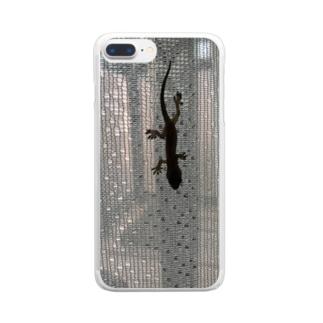 いらっしゃい Clear smartphone cases