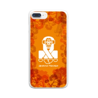 aniまる J-monkey / sp-case-c Clear smartphone cases