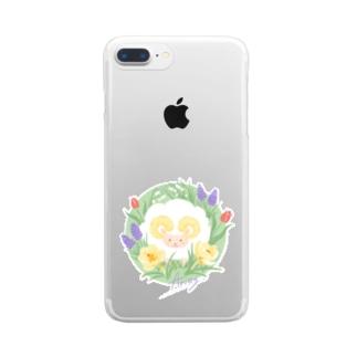 牡羊座クリアスマホケース Clear smartphone cases