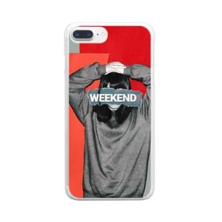 待ち焦がれて Clear smartphone cases