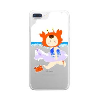 リトルアヤカ(海) Clear smartphone cases