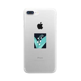 すずらん Clear smartphone cases