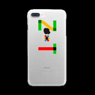marikiroのZT initial Clear smartphone cases