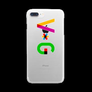 marikiroのVG initial Clear smartphone cases