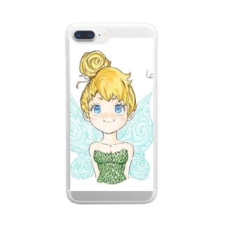 妖精 Clear smartphone cases