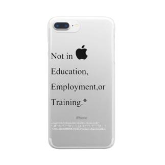 NEET定義 Clear smartphone cases