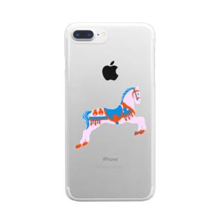 回転木馬 Clear smartphone cases