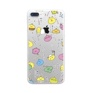 わたわたのおみせのナハレーズ Clear smartphone cases