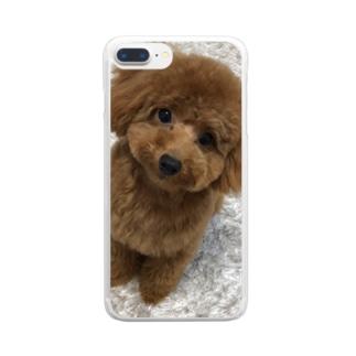 全面にメルちゃん Clear smartphone cases