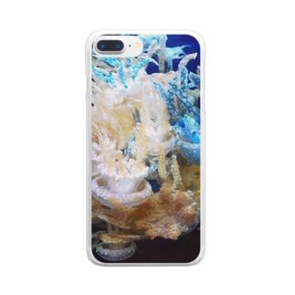 KURAGE_tree Clear smartphone cases