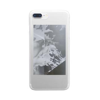 牛乳 Clear Smartphone Case