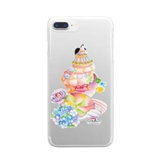 貝の家 Clear smartphone cases
