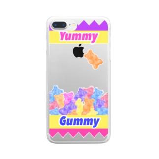 Yummy Gummy Clear smartphone cases