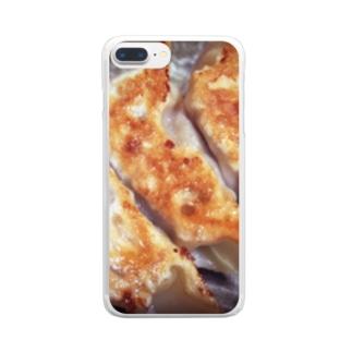 餃子 Clear smartphone cases