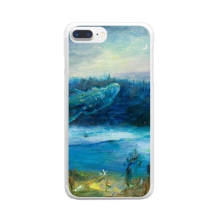 月ノ子の森に恋してのムラナギ/二月のジキム Clear smartphone cases