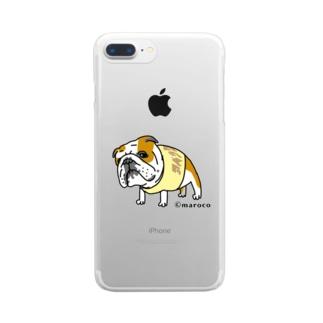 銀次郎 Clear smartphone cases