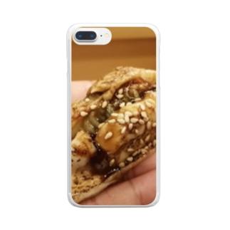 穴子寿司 Clear smartphone cases