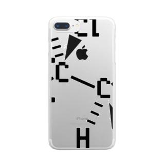 PVC構造式クリアスマホケース Clear smartphone cases