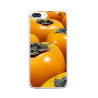 柿 Clear smartphone cases