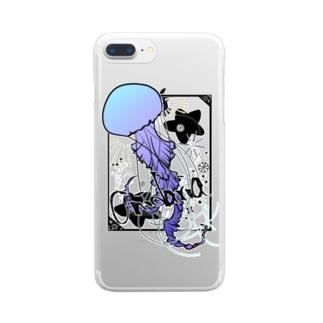 刺胞動物 Clear smartphone cases