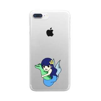 あめちゃんのケース Clear smartphone cases