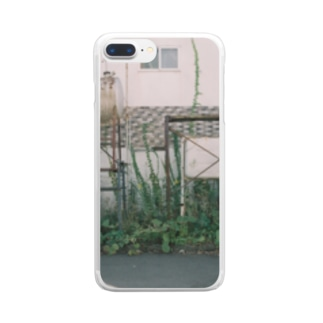 タンクアンドタンク Clear smartphone cases