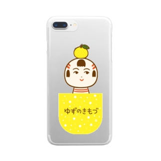 ゆずのきもづ Clear smartphone cases