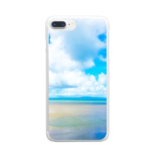 mizuphoto.comのsummer vacation Clear smartphone cases