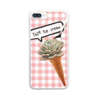 ice cream◡̈♥︎ Clear smartphone cases