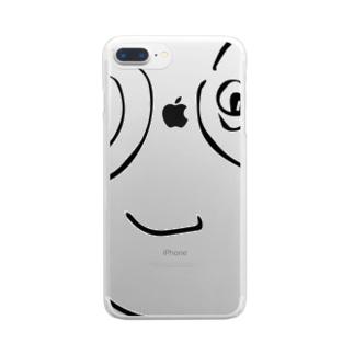 ほりすけ Clear smartphone cases